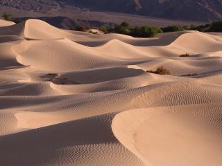 обои Песчаные дюны гонимые ветром фото