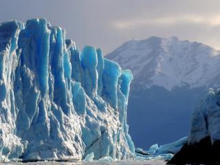 обои Ледовые горы Антарктики фото