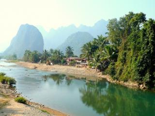 обои Река в тропиках фото