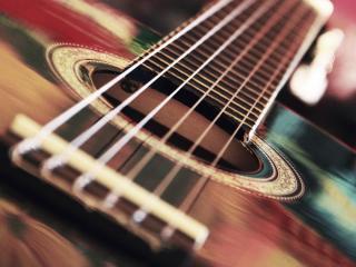 обои Гитара шестиструнная фото