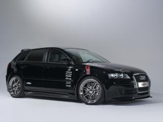 обои Audi A3 Sportback by Vogtland (8PA) бок фото