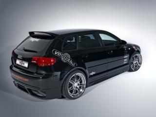 обои Audi A3 Sportback by Vogtland (8PA) сзади фото