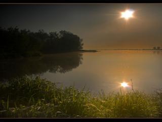 обои Ясная лунная ночь фото
