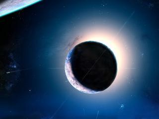 обои Планета в освоенном космосе фото