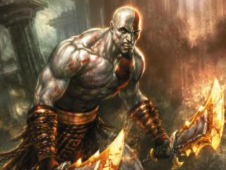 обои God of War III фото