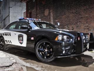 обои Полицейский автомобиль фото