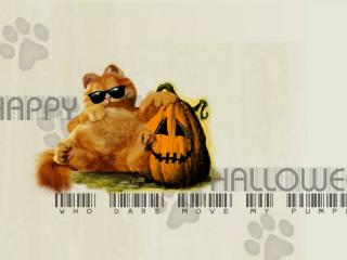обои Праздник хелловин надпись штрих код фото