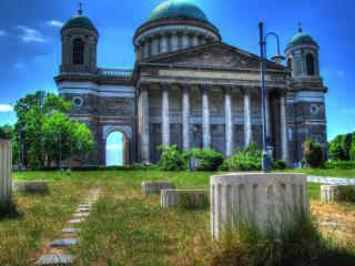 обои Храм с колоннами фото