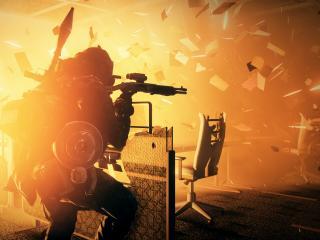 обои Battlefield 3 Close Quarters стрельба и взрывы фото
