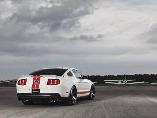 обои для рабочего стола: Сокрушительный Ford Mustang Shelby GT500
