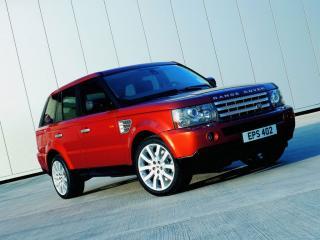 обои Range Rover red фото