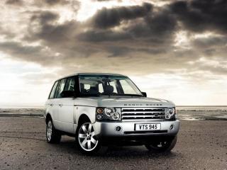 обои Серебристый Range Rover фото