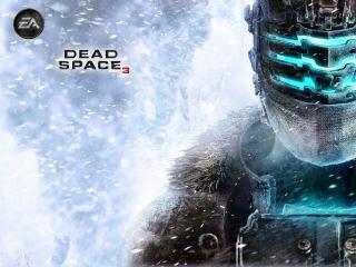 обои Персонаж из игры и зимняя стужа фото