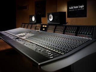 обои Студия звукозаписи фото