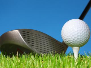 обои Клюшка и мячик для гольфа фото