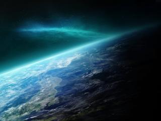 обои Вид планеты с высоты фото