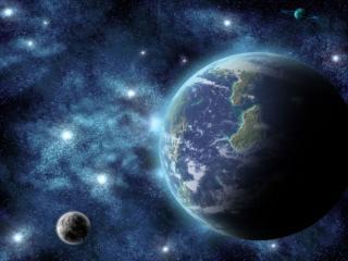 обои Земля,   звёзды и планеты фото