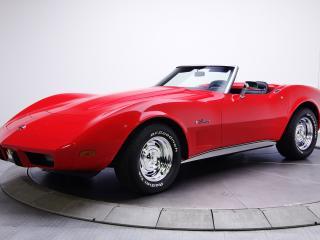 обои Chevrole corvette красного цвета фото