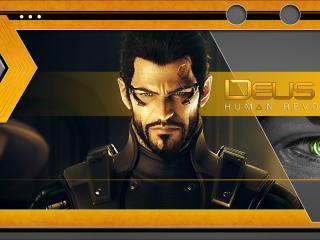 обои Главный герой игры Deus Ex фото