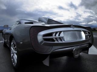 обои Новый суперкар Spyker C12 Zagato фото