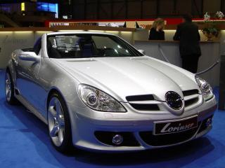 обои Mercedes tuning Lorinser фото