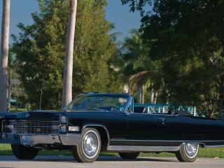 обои Cadillac Eldorado синего цвета фото