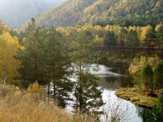 обои Уральская осень фото