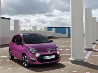 обои Renault Nouvelle-Twingo фиолетового цвета фото
