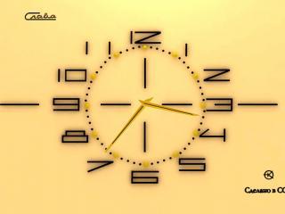 обои Советские часы Слава фото