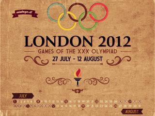 обои Надпись об лондонской олимпиаде 2012 фото