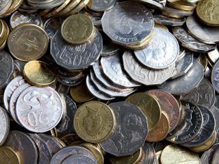 обои Монеты разных форм и стран фото