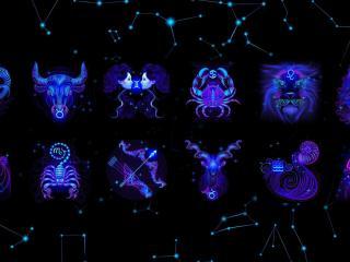 обои для рабочего стола: Зодиакальные знаки созвездий