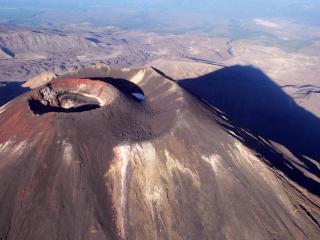 обои Кратер вулкана фото