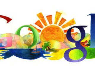 обои Google рисуночек фото