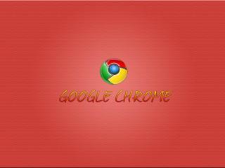 обои Chrome красный фото
