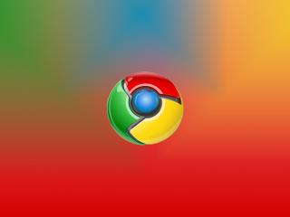 обои Chrome просто фото
