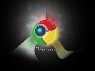 обои Chrome светится фото