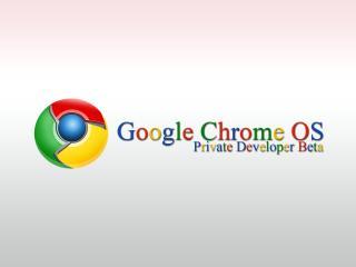 обои Chrome система фото