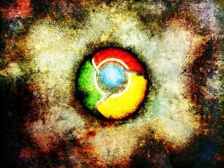 обои Chrome страшно фото