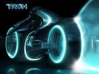 обои TRON колесо фото