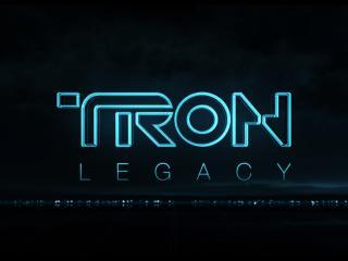 обои TRON лого фото