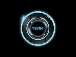 обои TRON логотип фото