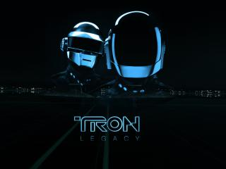 обои TRON шлемы фото