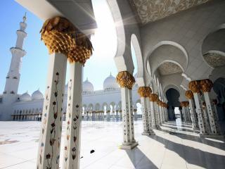 обои Арочные проходы в мечеть фото
