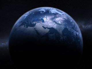 обои Голубая Земля фото