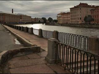 обои Городской этюд на Фонтанке фото