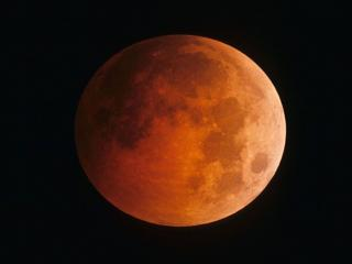 обои Красная Луна фото