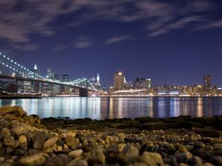 обои Мост ведущий в Бруклин фото