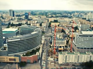 обои Вид города фото