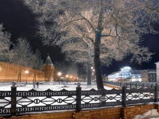 обои Фонари у Тульского Кремля фото